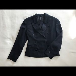 Jackets & Blazers - Next Collection Navy Blue Double Breasted Blazer